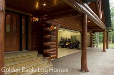 This is from the Lakehouse 3352AL  Photos and floor plans of this custom home are at www.GoldenEagleLogHomes.com  #loghomes #loghome #logcabins #cabin #logcabins #home #homes #houzz #rusticliving #outdoors #nature #loghomeliving #construction