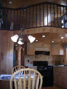 Log Cabin Park Model Mobile Home