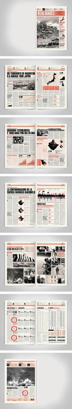 Newspaper Design by Boris Vargas Vasquez