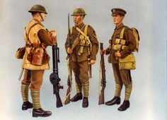 British Uniforms from WWI