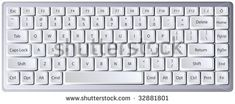 Laptop keyboard with letters/characters on separate layer for easy manipulation Keyboard Keys, Computer Keyboard, Separate, Layers, Laptop, Characters, Easy, Layering, Computer Keypad