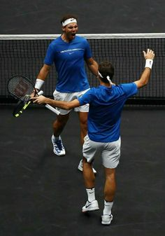 Laver Cup Team Europe Doubles #tennislife