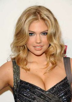 blonde curls. I could actually do this hairstyle!