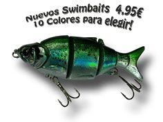 Nuevos Swimbaits 4.95€ 10 colores para elegir!  LasFavoritas.es