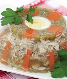 Răcitură muntenească   Retete culinare - Romanesti si din Bucataria internationala