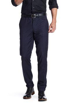 Hilion Blue Speckle Print Suit Separates Pant