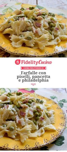 Farfalle Recipes, Pasta Recipes, Prosciutto, Chicken Wing Recipes, Antipasto, Gnocchi, I Love Food, Food Hacks, Pasta Salad
