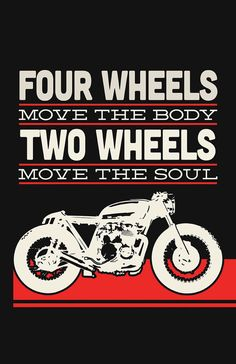Honda CB550 Cafe Racer - Two Wheels Move The Soul #2