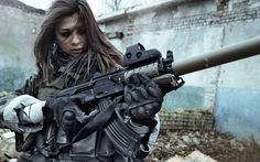 women soldiers war guns girls with guns airsoft Magpul eotech AKM silencer carbine holographic suppressor AK - Wallpaper ( / Wallbase. Fortes Fortuna Adiuvat, Costume Carnaval, Survival, Military Women, Military Outfits, Military Families, Warrior Girl, Female Soldier, Ex Machina