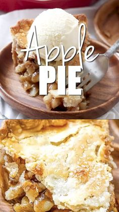 BEST Apple Pie Recipe Saigon cinnamon and freshly grated nutmeg are the keys to making this the best homemade apple pie around. Saigon cinnamon and freshly grated nutmeg are the keys to making this the best homemade apple pie around. Pie Crust Recipes, Apple Pie Recipes, Cake Recipes, Dessert Recipes, Nutmeg Recipes Food, Gala Apple Pie Recipe, Green Apple Pie Recipe, Simple Apple Pie Recipe, Apple Pie Recipe Video