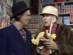 Filthy, Rich & Catflap. A Death In The Family. Series 1 Episode 4 - YouTube Filthy Rich And Catflap, British Comedy, Young Ones, Classic Tv, Comic Strips, Youtube, Death, Presents, Gifts