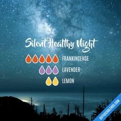 Silent Healthy Night Diffuser Blend