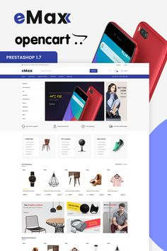 eMax - The Shopping Mall OpenCart Template is a good choice for selling #Fashion,#Electronics, #Art, #webibazaar #webiarch #Bicycle, #Furniture, #design #template #flower #kidswear #Cake #Furniture #Flower #Food #appliances #bag #ceramic #cosmetic #fashion #flower #coffee #undergarments #home #bodysuits #typography #beachwear #WebsiteShoppingCart #lingerie #eCommerce #jewellery #organic #pet-store #power-tool #resturant #shoes #watch