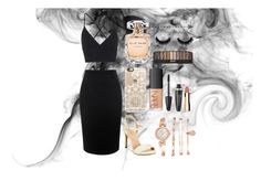 """""""night out xo"""" by larnyssxo on Polyvore featuring beauty, Topshop, Alexander McQueen, XOXO, Casetify, Anne Klein, NARS Cosmetics, Elie Saab, Max Factor and Clarins"""