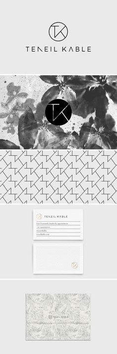 Branding / Print Design / Packaging / Logo Design / Graphic Design / Business Card Design / Bliss & Bone https://blissandbone.com/custom-design?teneil-kable
