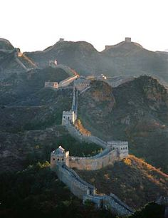 Hike along the Great wall of China