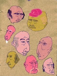 male pattern baldness by valerrific, via Flickr