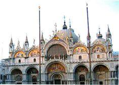 The Basilica of St Marks, Venice Italy