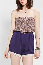 Urban Outfitters - Pins And Needles Floral Romper