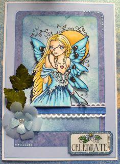 Sweet Pea stampers - Blue Crush