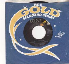 "Elvis Presley Blue Christmas / Little Sister /  7"" Vinyl 45 RPM Record / RCA 447-0634 / 0637 / Mislabeled #ElvisPresley"