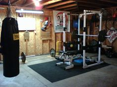 Interior, Stay Healthy by Creating Home Gym Room: Home Gym Ideas