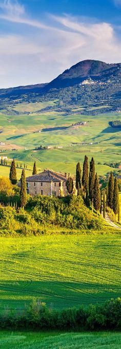 Italia, italy, Italie. La Tocane, l'une des plus belles région d'Italie!