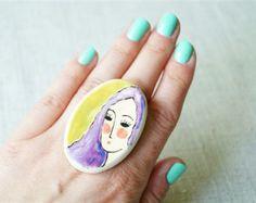 Keramik-Ring Keramik Schmuck Ring von HerMoments von HerMoments