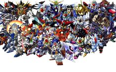 Super Robot Wars is a series of tactical role-playing video games produced by Bandai Namco Entertainment, formerly Banpresto Bandai Namco Entertainment, Mecha Anime, Super Robot, War, Entertaining, Video Games, Videogames, Video Game, Funny