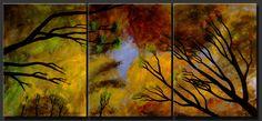 "Abstract Paintings, Contemporary Paintings, Abstract Art, Contemoporary Art, Modern Art  ""Central Park"" by Artist Dora Woodrum http://nicemodernart.com"