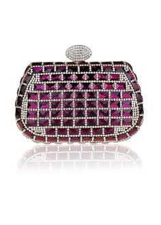 In Stock Shining Handbags with Crystal   Rhinestones Evening Clucthes Evening  Clutches a4dc364fb974