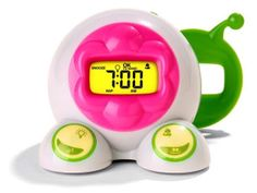 """Sold for just $0.67 on Beezid.com! A fun, friendly alarm clock designed to teach children how to get up on their own, the OK to Wake! Children's alarm clock is a parent's best friend on those mornings when you'd like to sleep in a little longer. It glows yellow most of the time, but turns green according to your settings. Children wait for the """"Green means GO!"""" light to know they can get up and come see you"""