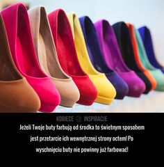 SKUTECZNY SPOSÓB na farbujące buty!
