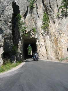 Iron Mt. Road, Black Hills, SD--Black Hills Motorcycle Rides, the book.