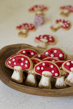 mushroom cookie christmas ornament (or, random house ornament in my case)