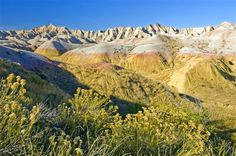 Badlands National Park - I only had a chance to drive through on a road trip home and I want to go back!!!