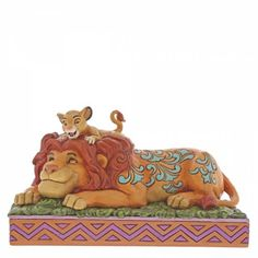 Jim Shore Disney Traditions - Simba & Mufasa - A Father's Pride