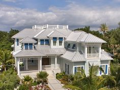 ePlans Low Country Style House Plan – Old Florida Keys Charm – 5814 Square Feet and 4 Bedrooms from ePlans – House Plan Code HWEPL77696