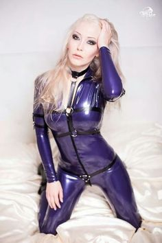 sexchatten latex tights