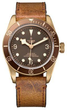 TUDOR : L'âge de bronze  Depuis que cette ligne est sortie, Tudor a renoué avec le succès. Regroupant tout ce que l'on aime dans une montre, la Blackbay a savamment été déclinée, année après année en différentes couleurs. Mais en 2016, Tudor change de matière de boite, en proposant du bronze.