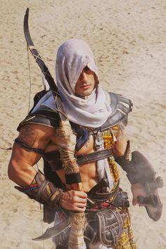 Assassin's Creed Origins - Bayek Cosplay by Leon Chiro Assassins Creed Cosplay, Assassins Creed Series, Assassins Creed Origins, Belle Cosplay, Epic Cosplay, Angel Warrior, Fantasy Warrior, Assasins Cred, Assassin's Creed Brotherhood
