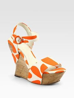 Alice and Olivia  Joyce Printed Canvas Wrap Wedge Sandals | http://www.saksfifthavenue.com/main/ProductDetail.jsp?FOLDER%3C%3Efolder_id=2534374306545067&PRODUCT%3C%3Eprd_id=845524446443027&R=885130395611&P_name=Alice+and+Olivia&N=306545067&bmUID=joS1vJD