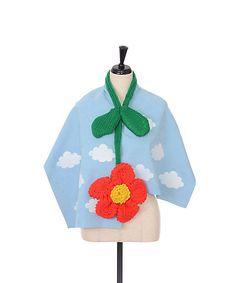 <編む。><RYOTA MURAKAMI>ストール:お花(Stall-1):三越・伊勢丹オンラインストア