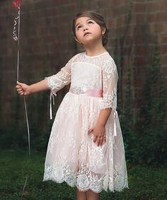 020e32d8c6fc Take a look at this Trish Scully Child Pink Bella Estella Dress - Infant,  Toddler & Girls today!