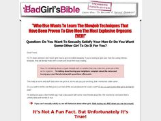 [Get] The Blow Job Bible - http://www.vnulab.be/lab-review/the-blow-job-bible