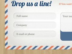 50 Examples of Creative Contact and Web Form Designs