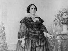 Teresa Cristina Maria de Bourbon (1822 - 1889) esposa de D.Pedro II