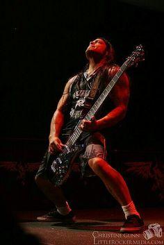 Robert Trujillo of Metallica by Christine Gunn.