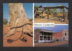 Coolgardie Western Australia Postcard