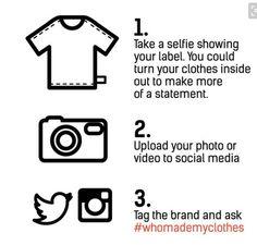 http://fashionrevolution.org/get-involved/ways-for-everyone-to-get-involved/
